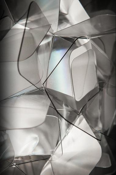 Lampa wisząca SLAMP CLIZIA fume 78 cm