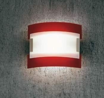 Plafon Sillux NEW YORK LS 4/232 czerwony 41 cm