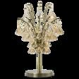 Lampa Stolikowa kryształowa Elem Barcelona 6246/1D 21QG mosiądz